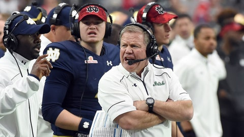 Loser: Notre Dame football
