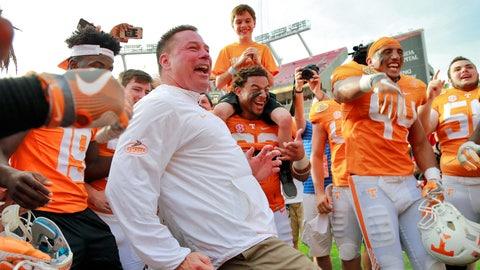 Winner: Tennessee football