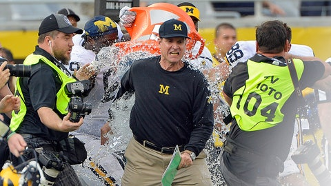 Winner: Jim Harbaugh (and Michigan football)