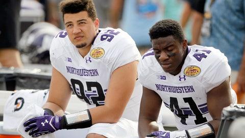 Loser: Northwestern football