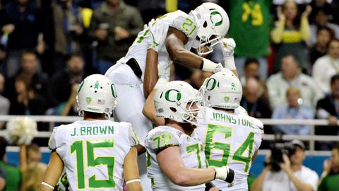 Royce Freeman, Jr. Oregon