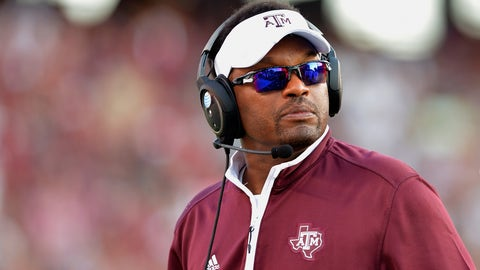 Texas A&M's Kevin Sumlin: 83 percent