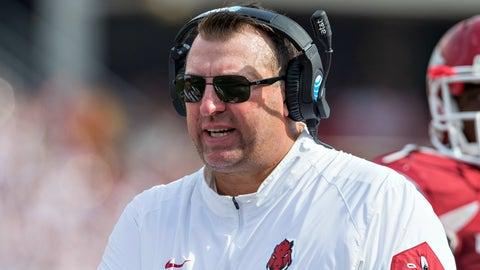 Brett Bielema - Arkansas head coach