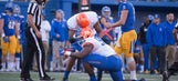 Report: Ex-Boise State DT arrested after allegedly biting off part of teammate's ear