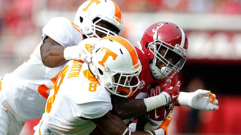 Alabama at Tennessee (Oct. 15)