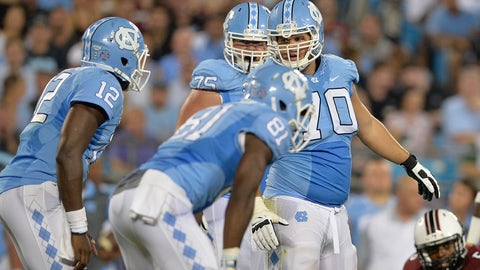 8. Bentley Spain (OL, UNC)