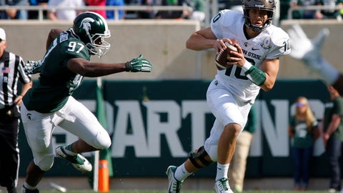 28. Messiah deWeaver (QB, Michigan State)