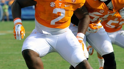 36. Shy Tuttle (DL, Tennessee)