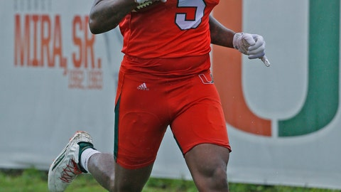 23. Standish Dobard (TE, University of Miami)