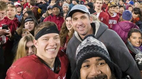 Christian McCaffrey, RB, Stanford (son of 3x Super Bowl champ Ed McCaffrey)