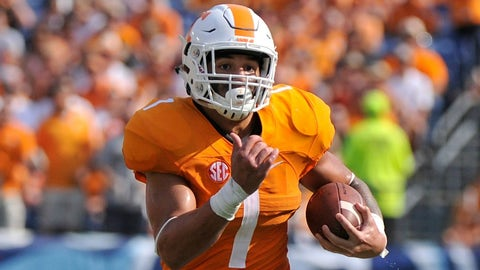 On The Rise: Jalen Hurd, Tennessee RB, Jr.