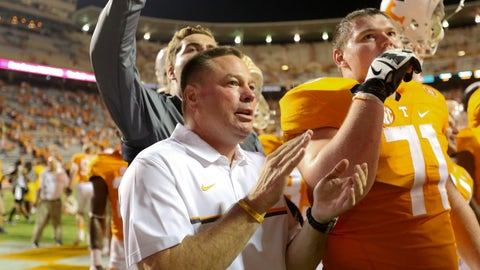 No. 18 Tennessee (bye)