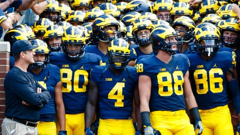 No. 5 Michigan 51, Central Florida 14
