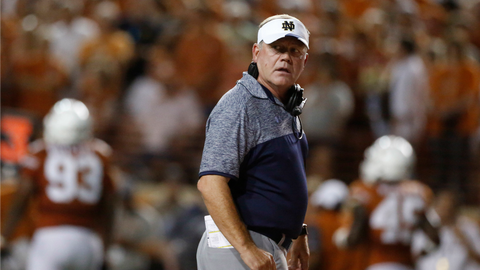 Even after a loss to Texas, Notre Dame will end up in a New Year's Six bowl game