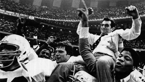 A big win led to Joe Paterno's first national title