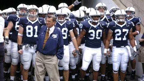 The rivalry introduced Joe Paterno