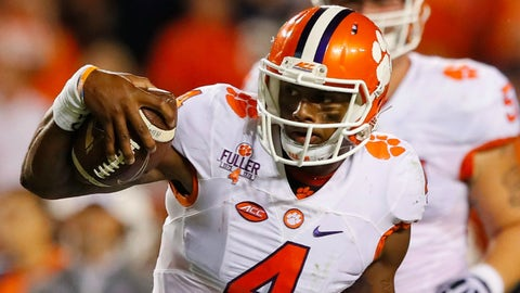 On The Rise: Deshaun Watson, Clemson QB, Jr.