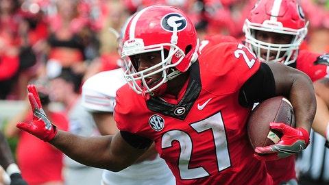 Nick Chubb, RB, Georgia