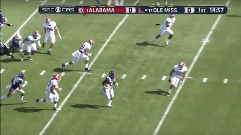 Mark Dodson's opening kickoff sets the tone in 2014