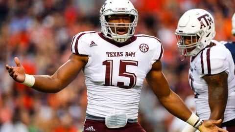 Texas A&M (3-0), re-rank: 9