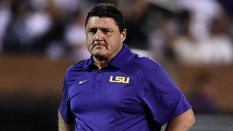 LSU will finish an uninspired 7-5 before hiring their next coach