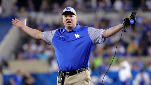 Mark Stoops - Kentucky head coach