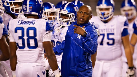 Joker Phillips - former Kentucky head coach