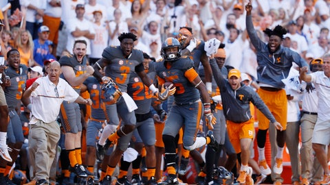Tennessee (4-0), re-rank: 5