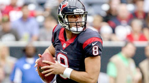 2007: The untested Matt Schaub* signs a big deal with the Houston Texans