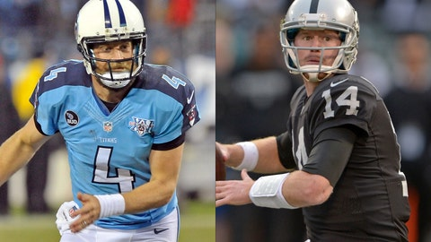 Tennessee Titans at Oakland Raiders, Sunday, 4:05 p.m. ET (CBS)