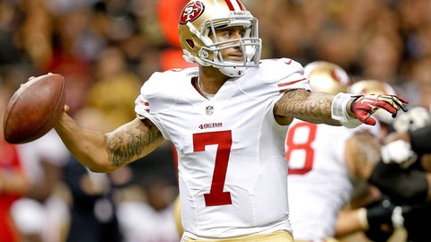 San Francisco 49ers at Washington Redskins, Monday, 8:40 p.m. ET (ESPN)