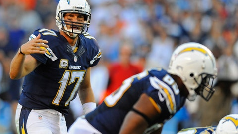 San Diego Chargers at Kansas City Chiefs, Sunday, 1 p.m. ET (CBS)