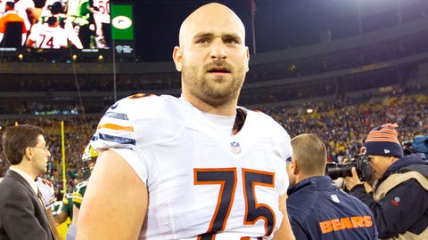 Kyle Long, OG, Virginia / Drafted 20th overall by the Chicago Bears