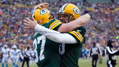 2011 season: Green Bay 45, Detroit 41