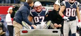Source: Patriots' star tight end Gronkowski tears ACL vs. Browns