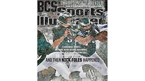 Making the cover of 'Sports Illustrated'