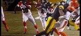 Cincinnati Bengals punter Kevin Huber got absolutely leveled Sunday night
