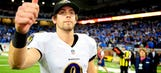 Ravens kicker Justin Tucker gets vocal on stage at All Time Low concert