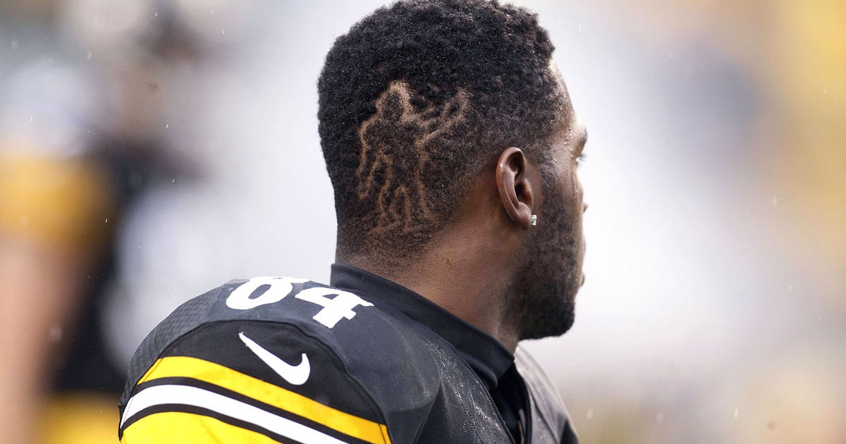 Steelers Antonio Browns New Hairdo Is On Point Fox Sports