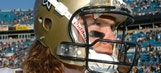 Former Saint Gleason, battling ALS, tweeted during game with his eyes