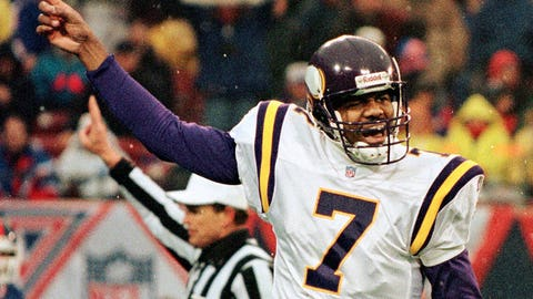 8. Vikings 23, Giants 22 in 1997