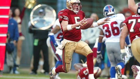 2002 season: San Francisco 39, New York Giants 38
