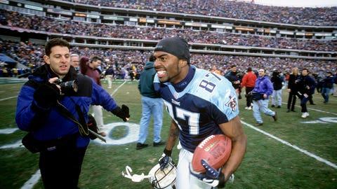 2. Titans 22, Bills 16 in 2000