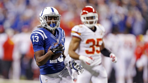 T.Y. Hilton, WR, Florida International / Drafted 92nd overall by the Indianapolis Colts