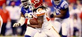 Jamaal Charles out for remainder of game with concussion