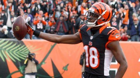Wide receiver: A.J. Green, Bengals