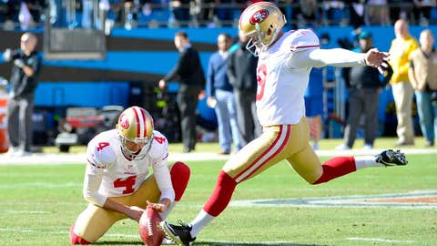 49ers kicker Phil Dawson