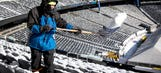 Snow far, snow good: Crews work on digging out MetLife Stadium