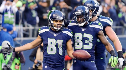 Seattle's receivers don't stink