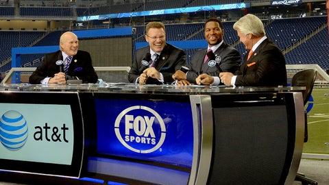 Sunday. 2 p.m. ET on FOX: Super Bowl Pregame